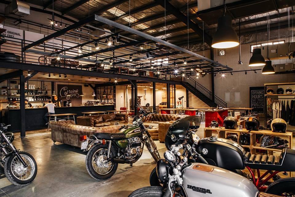 Cafe Rider Custom Motorcycles